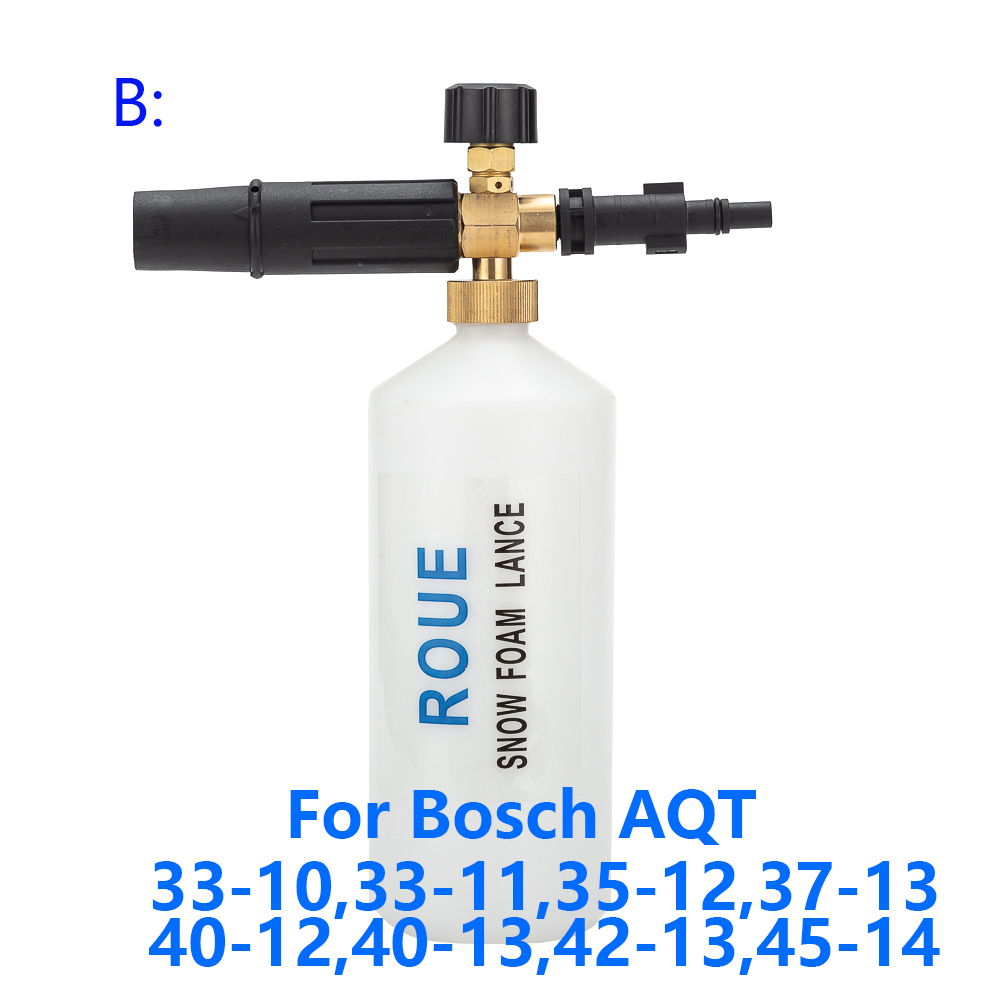 Image 2 - Foam Generator/ Foam Nozzle/ High Pressure Soap Foamer for BOSCHE Pressure Washer Car Washer Snow Foam Lance-in Water Gun & Snow Foam Lance from Automobiles & Motorcycles