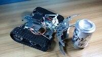 Смарт металлический Танк робот шасси DIY kit манипулятор mg996r mg946r