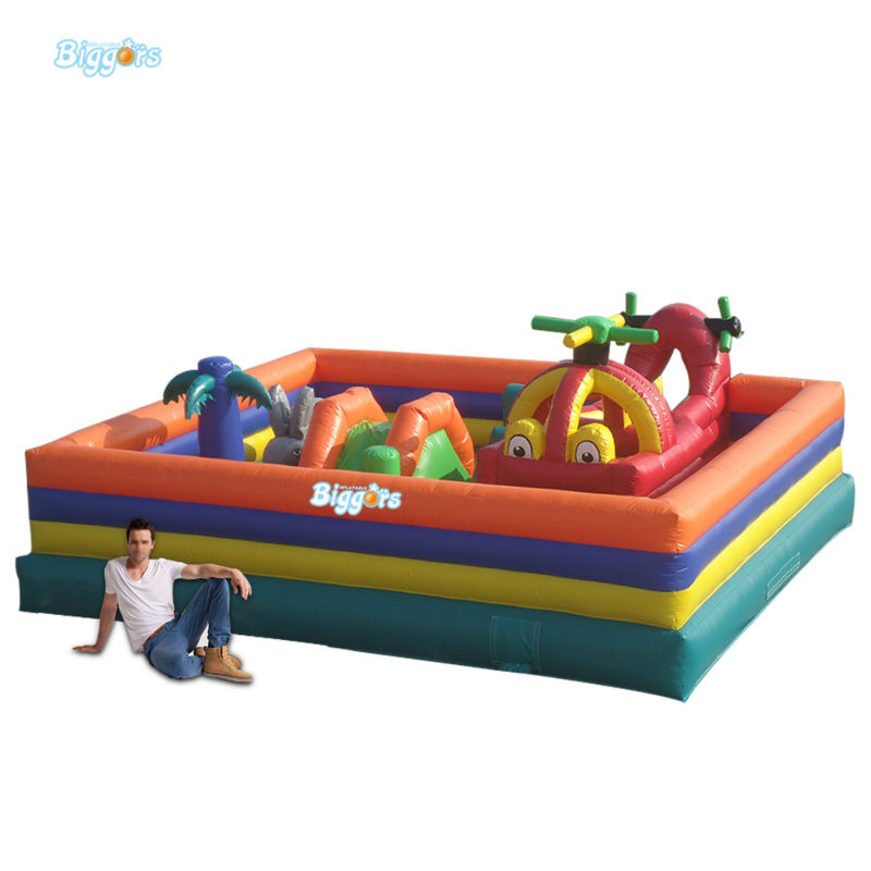 Inflatable Biggors Inflatable Fun City Inflatable Jumping Bouncer For Children цена