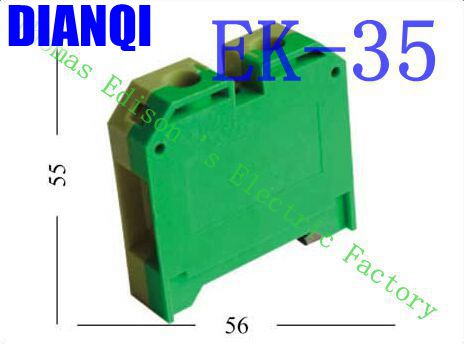 EK35/35 EK-35/35 Terminal Block Terminal Connector/Cable Connector/Wire Connector/Splice 10PCS/Pack 35
