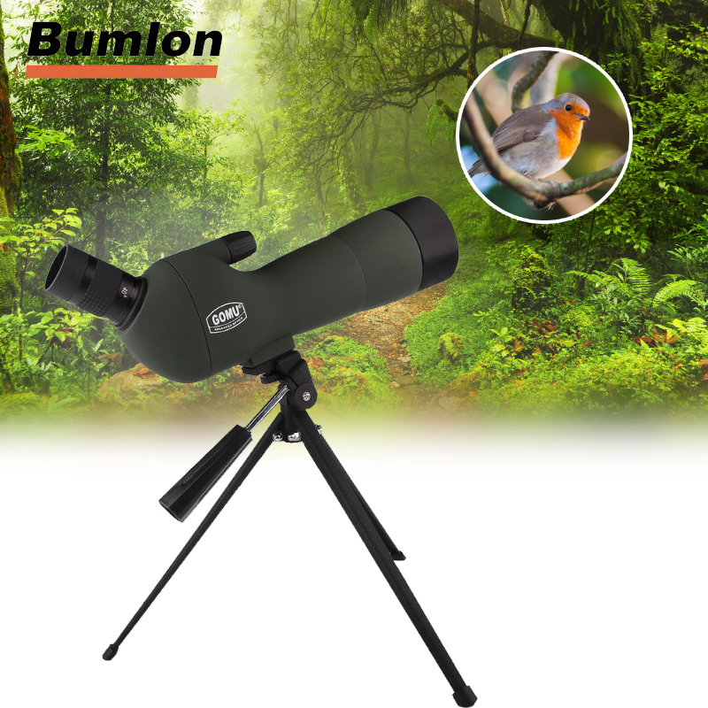 20-60x60 Monocular Telescope HD Outdoor Spotting Scope Zoom with Angled Eyepiece Low Light Night Vision Scope HT38-0008 ...