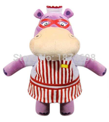 Brinquedos Doc McStuffins Doc Lambie Entupido Dragão de Cordeiro Hallie Hipopótamo Boppy 30 centímetros Bonito Bichos de pelúcia Cachorro de Brinquedo de Pelúcia Crianças bonecas Presentes