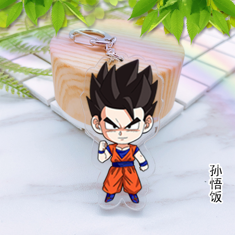 Costumes & Accessories Dragon Ball Super Saiyan Acrylic Cosplay Keychain Anime Dragonball Evolution Dbz Pendant Keyring Torankusu Frieza Llavero