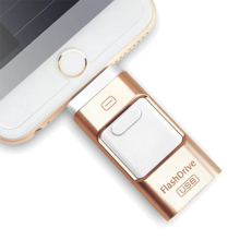 New 3 in 1 Lightning OTG USB 3.0 Flash Drive 32/64/128/256GB Pen for iPhone/iPad/IOS/Android/PC Memory Stick (256GB)