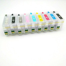 einkshop Refillable ink cartridges for Epson P600 surecolor Surecolor SC-P600 printer with auto reset chips T7601 -T7609