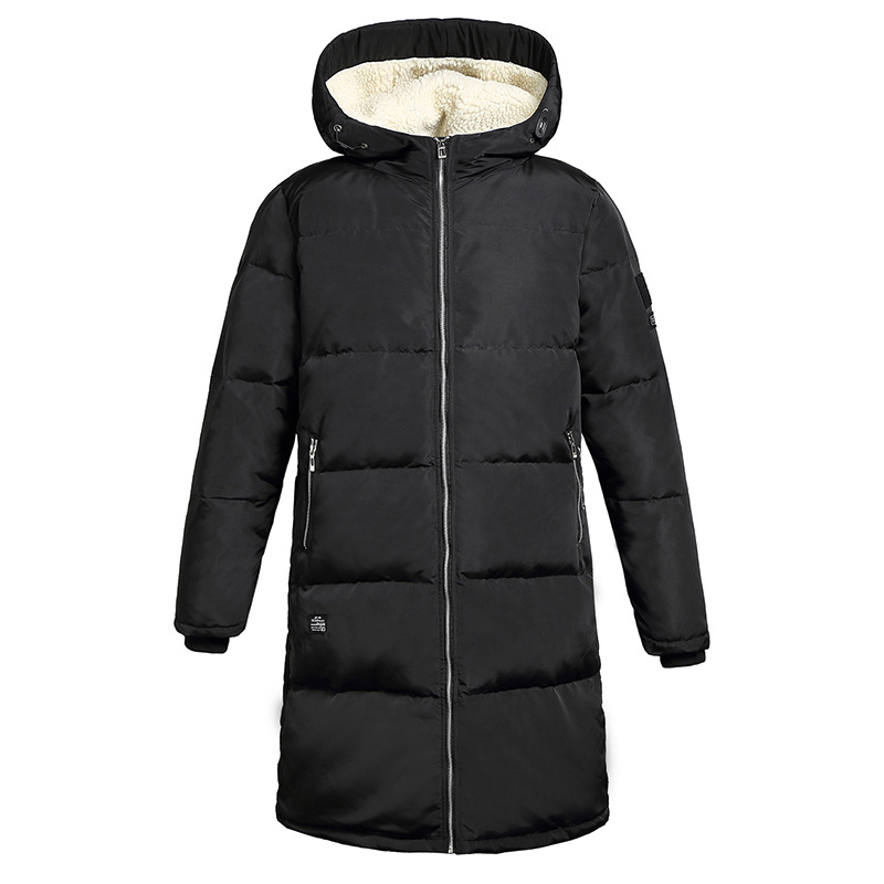 ФОТО Winter Clothes White Duck In The Long Yes Fashion Solid Loose Zipper None Down Jacket Hot New Uomo Men Coat Overcoat Male A50