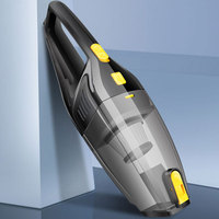 Wet Dry Dual Use DC 12V Vacuum Cleaner 120W Strong Power Auto Vacuum Cleaner Car Handheld Car Vacuum Cleaner