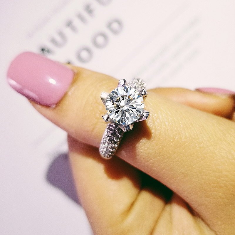 Αρχική 925 Sterling Silver Δαχτυλίδι - Κοσμήματα μόδας - Φωτογραφία 2