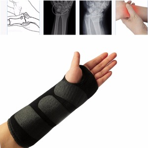 Fracture fixation of wrist joint with ulnar bone fractures postoperative wrist brace wrist splint breathable protection For Left