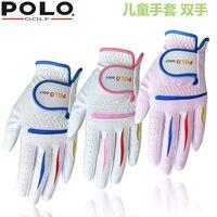 Golf Children's Gloves Juvenile Gloves Golf Men and Women Children's Care Gloves Left and Right Hands