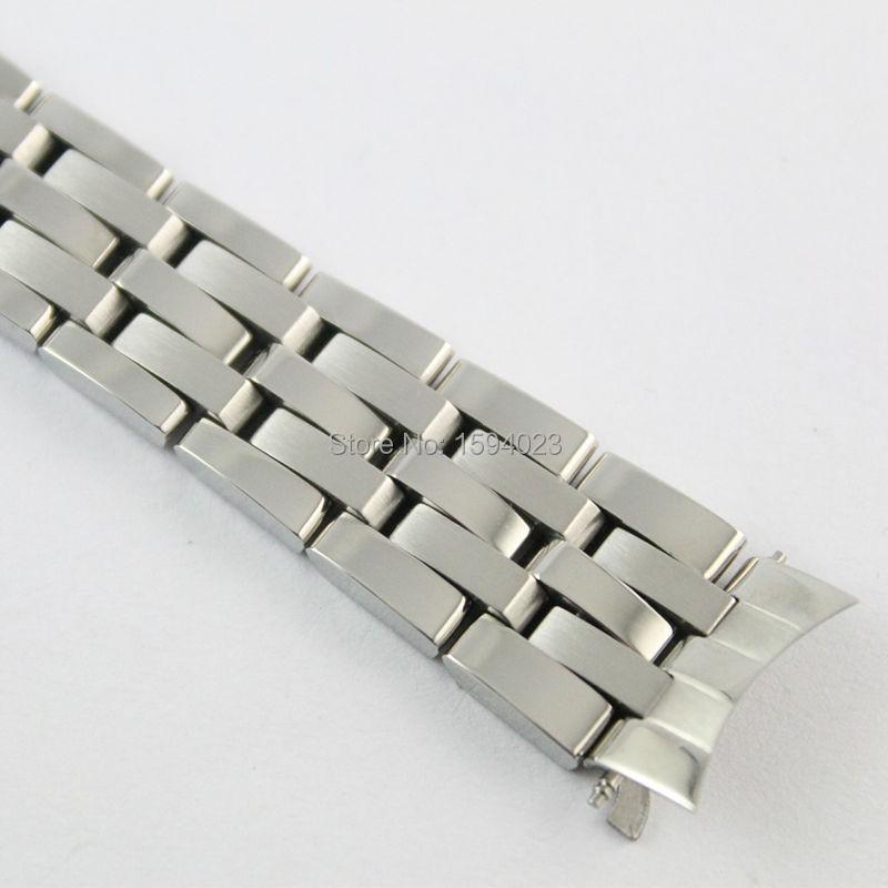 16 мм PRC200 T055217 ремешок для часов Часы женские серебряные твердые нержавеющая сталь браслет ремешок для T055
