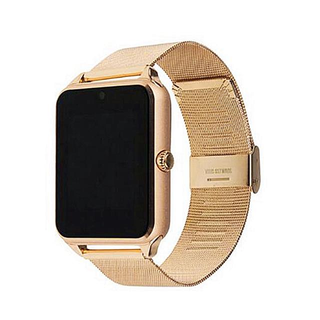 2021 Smart Horloge GT08 Plus Metalen Band Bluetooth Pols Smartwatch Z60/Android Ondersteuning Sim Tf Card Horloge Multi talen
