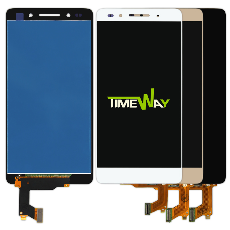 Подробнее о 10pcs LCD Display + Touch Screen 100% New Digitizer Assembly Replacement Accessories For Huawei Honor 7 5.2 Inch Mobile Phone new lcd display touch screen digitizer assembly replacement accessories for huawei ascend honor 7 above phone lc free shipping