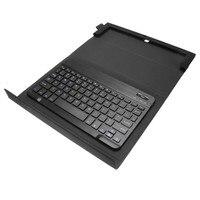 מקרה מקלדת אוניברסלי נרתיק מתקפל סטנד מגן כיסוי מקלדת קוביית I7 עגינה עבור רוב Tablet PC שחור