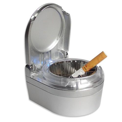 огнеупорные из светодиодов автомобиля вентиляционное отверстие дым сигарета держатель путешествия пепельница пепельница чашки