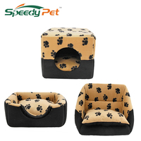 Hond multifunctionele Huis Bed Puppy Kennel Warme Doggie Sofa Kat Nest Pad Kitten Mat S/M Voor Kleine Medium Hond Dierbenodigdheden