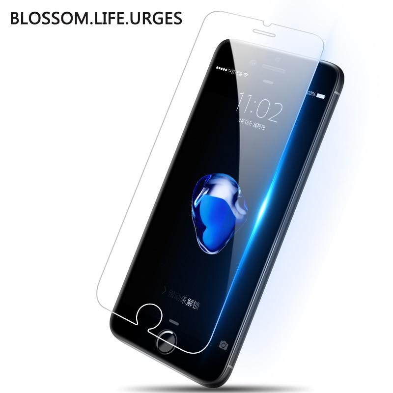 Защитный закаленное стекло для iphone x 6s 7 8 плюс XR защитный Стекло пленку на iphone x Защита экрана для iphone xs max Стекло