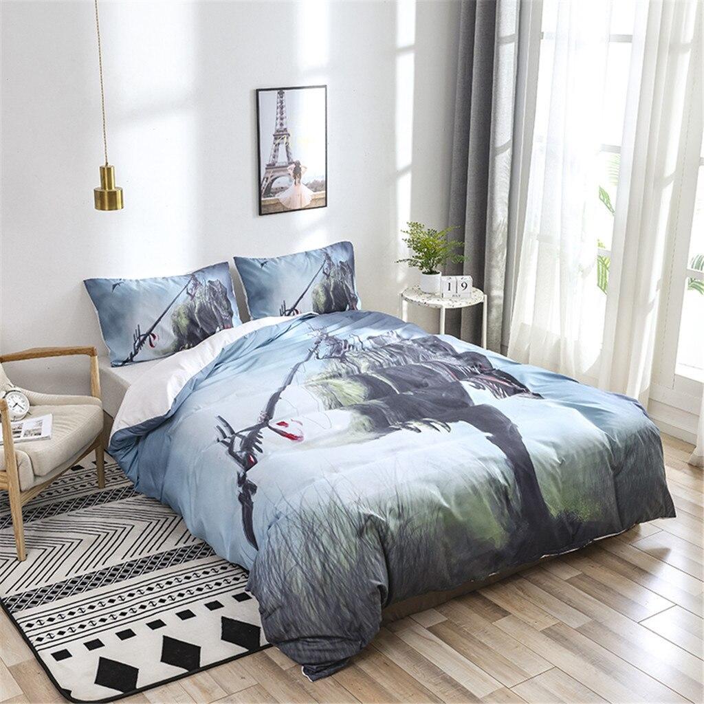 Duvet Cover Bedding Set Dinosaur Quilt