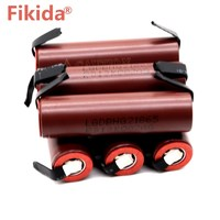10PCS battery 18650 HG2 3000mAh with strips soldered batteries screwdrivers 30A high current + DIY nickel inr18650 hg2