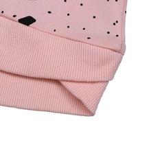 Baby Girls Cats Print Sweatshirts Long Sleeves