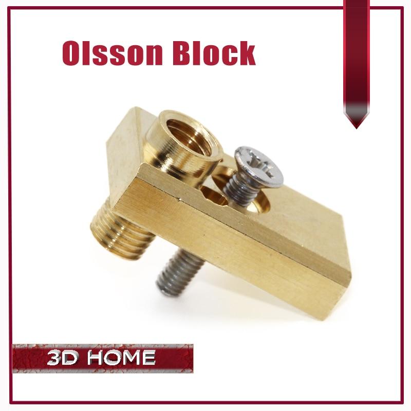 Olsson Block 1Pcs Ultimaker 2 UM2 Extended E3D Heater Hotend