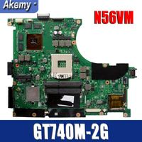 Amazoon N56VB/N56VM Laptop motherboard for ASUS N56VB N56VM N56VJ N56V N56VV Test original mainboard GT740M 2G Support i3 i5 i7