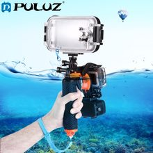 PULUZ 3 in 1 Shutter Trigger Floating Bobber Hand Grip Diving Buoyancy Stick Tripod Mount for GoPro 5 SJ Xiaomi Yi,Smartphones(China)