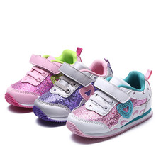 Newest !!! 1pair Children Shoes,BRAND kids Fashion Sneakers, Super quality Girl shoes