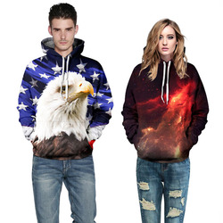 New fashion 3d galaxy hoodies print owl lion font b cat b font font b jacket.jpg 250x250