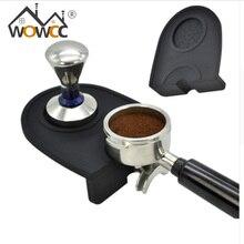 1 Unids Café Espresso tamper mat Silicio estera de goma esquina (no hay café estampador) Almohadilla Antideslizante Herramienta envío Gratis