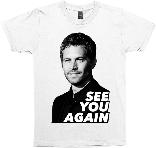 US $12 8 39% OFF|See You Again Paul Walker Adult Unisex T shirt Cool  xxxtentacion tshirt Brand shirts jeans Print Classic Quality High t  shirt-in