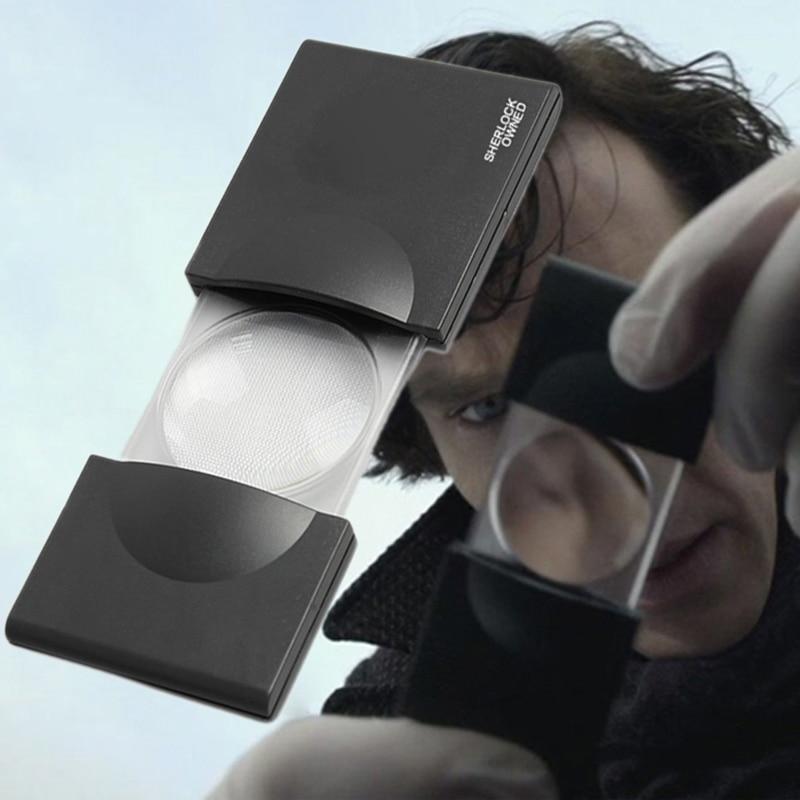 New Detective Sherlock 4 Holmes Benedict Cumberbatch Doctor Strange Magnifying Glass For Kids Children Boy Girl Halloween Gift