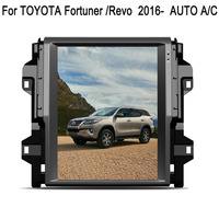 12.1 Tesla Type Android Fit TOYOTA Fortuner / Hilux Revo 2016 2017 2018 AUTO A/C Car DVD Player Navigation GPS Radio