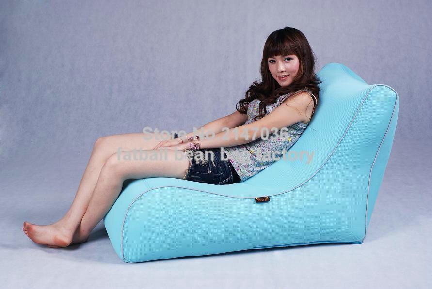 Blue bean bag chair,portable folding beanbag home sit home furniture, lazy sack все цены