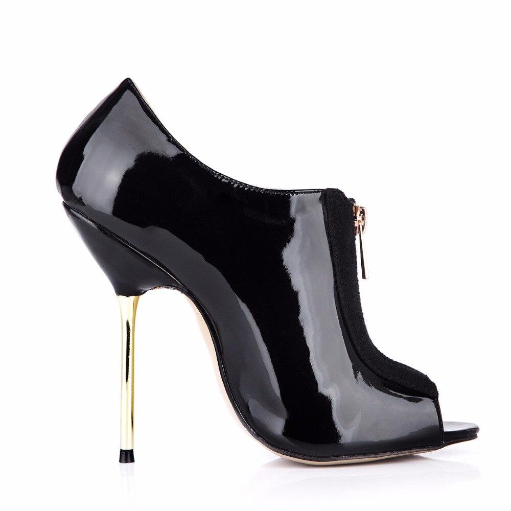Heels 3845 Elegante Toe Ankle Mode Neue Peep h2 2018 3845 Für Zip Dünne Frauen Damen h Pumps 3845 High Top Schuhe Sexy Fersen h AwqvRERY