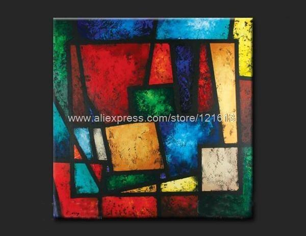 Tableau Art Abstrait Peinture Huile Achat Peinture A L Huile
