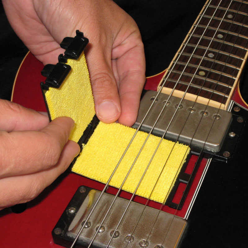 Acoustic Electric Bass String Cleaner Ukulele Banjo Quick - ชุดแปรงเครื่องมือสำหรับเครื่องสายเครื่องดนตรี