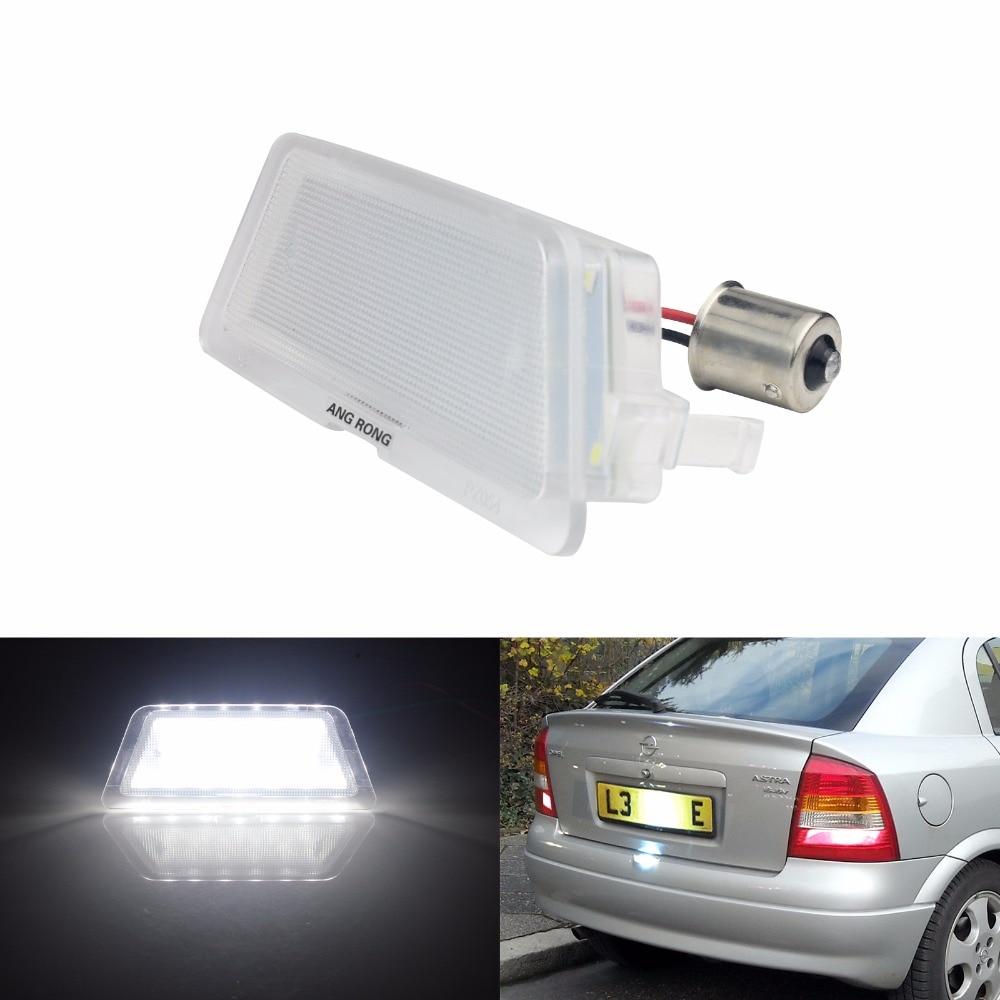 1x Opel Agila B Bright Xenon White LED Number Plate Upgrade Light Bulb
