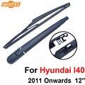 Qeepei traseiro limpa e braço para hyundai i40 2011 a partir de 12 ''5 portas wagon Iso9000 Alta Qualidade de Borracha Natural RHY26-1B