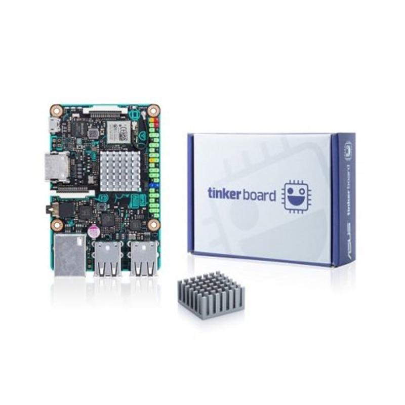 ASUS SBC Tinker Board RK3288 SoC 1.8GHz Quad Core CPU, 600MHz Mali-T764 GPU, 2GB LPDDR3 Tinkerboard Speed Than Raspberry Pi 3
