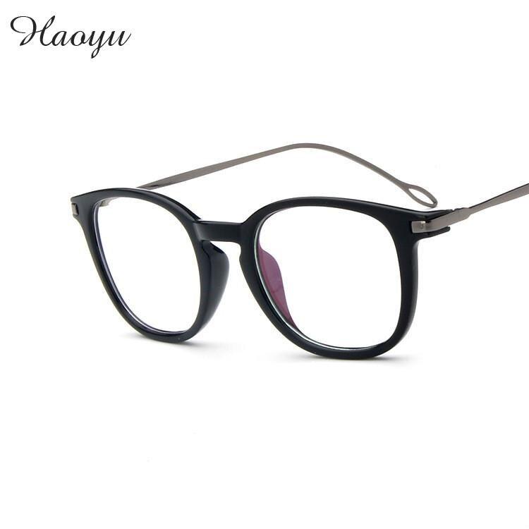 39e4d65c3d36a Haoyu 2016 retro do vintage óculos de leitura espetáculo óptico óculos de  armação das mulheres dos homens de design da marca oculos de grau femininos  2981