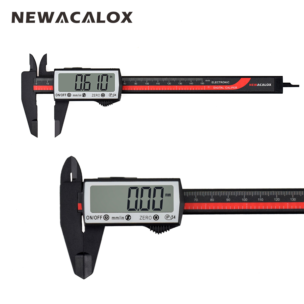 "6/"" Extra Large LCD Screen Digital Caliper"