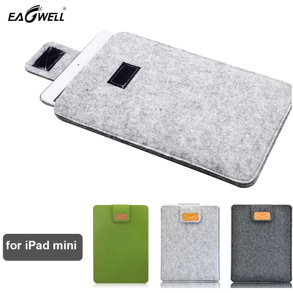 Felt Tablet Bag for iPad mini 2 1 3 4 Case Notebook Cover 7.9 inch Laptop Tablet Case PC Sleeve Shell Skin 2016 Funda Protective