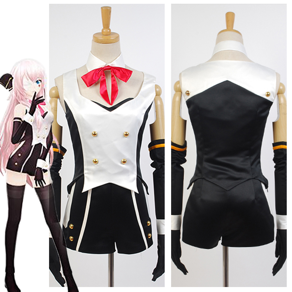 Anime Vocaloid Hatsune Miku Project DIVA-f 2nd LUKA Cosplay Costumes For Women Halloween Costume