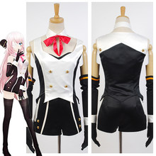 Anime Vocaloid Hatsune Miku Project DIVA-f 2nd LUKA Cosplay Costumes For  Women Halloween Costume e7ab0e869ad6