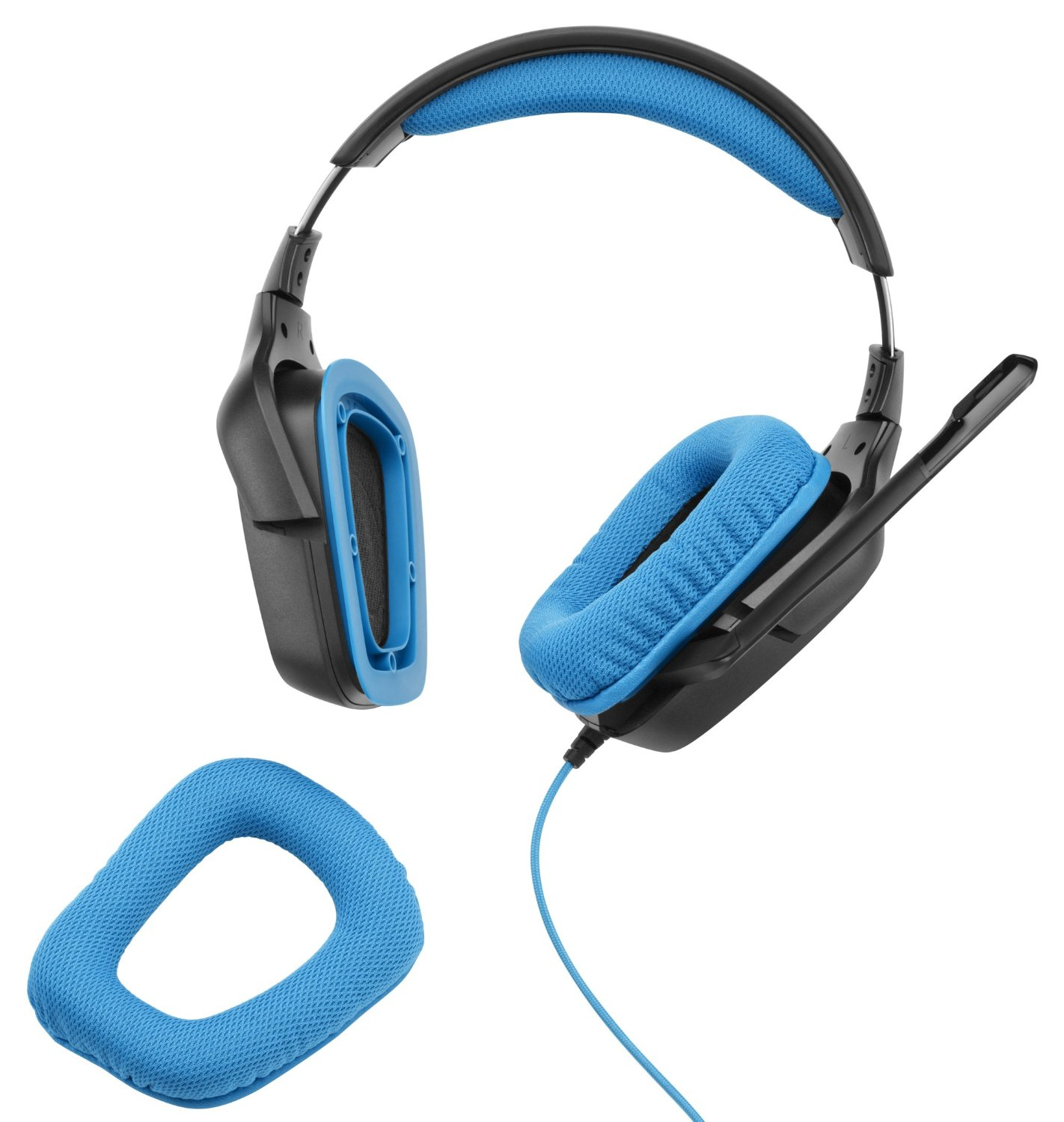 c692f264040 Logitech G430 Surround Sound Gaming Headset with Dolby 7.1 Technology-in  Mouse Pads from Computer & Office on Aliexpress.com | Alibaba Group