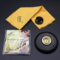 2018 New Cello Accessories 4 Sets of Anti slip Mats Strings Wipes Mute Musical Instrument Accessories