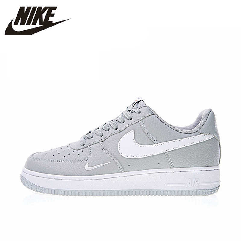 check out 7e516 5e735 Nike Air Force 1 Low Mini Swoosh Men s Skateboarding Shoes Sport Outdoor  Sneakers Footwear Designer Athletic