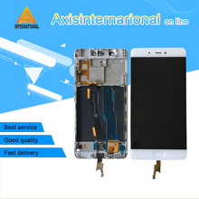 """Original Axisinternational 5.15"""" For Xiaomi 5S Mi5S M5S With Fingerprint Lcd Screen Display With Frame+Touch Panel Digitizer"""