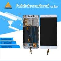 """Oryginalny Axisinternational dla 5.15 """"Xiao mi 5S mi 5S M5s z linii papilarnych ekran wyświetlacz LCD + digitizer panel dotykowy dla mi 5S mi 5S"""